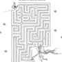 Chasing butterflies maze low res