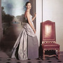 Model janine klein mrs william klein wearing evening gown by balenciaga photo clifford coffin in balenciagas private house paris august 1948