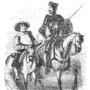 Stock illustration 9116529 engraving don quixote and sancho panza