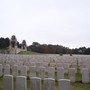 Mt knowles grave  second right  foreground looking over cemetery