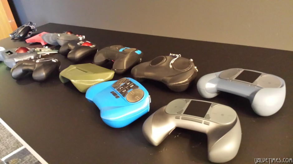Steam Controllers Prototypes