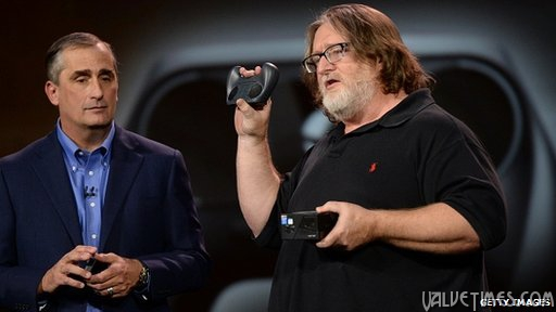 Valve Gabe Newell Steam Гейб Ньюэлл на CES 2014