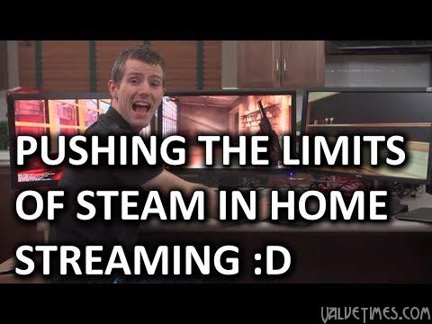 in-home streaming в Steam, ограничения и возможности