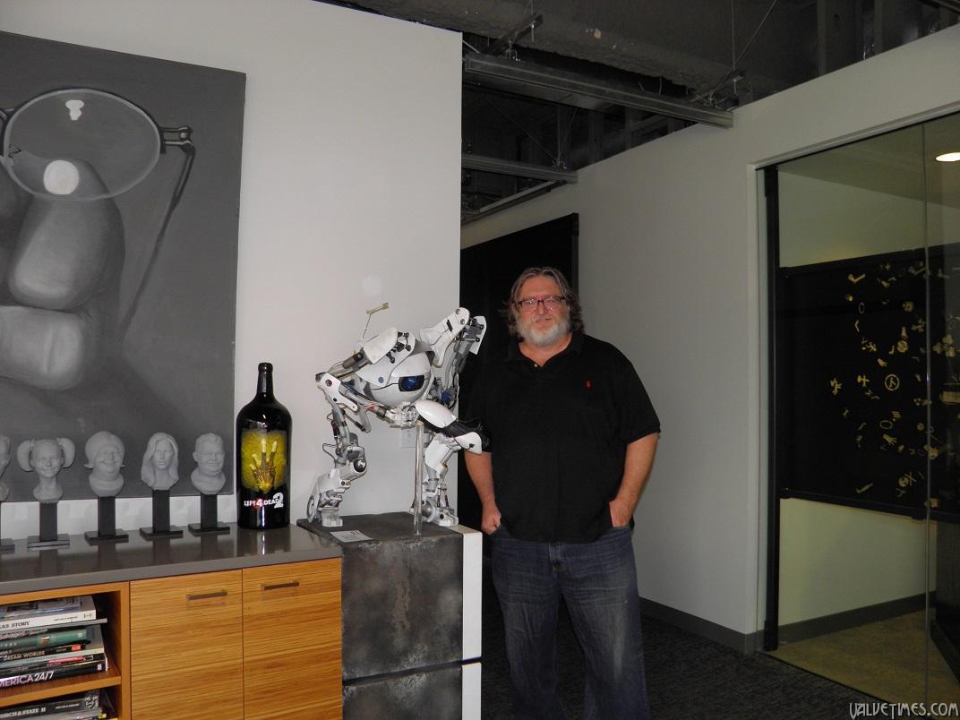 Gabe Newell (Гейб Ньюэл): как тикает Valve