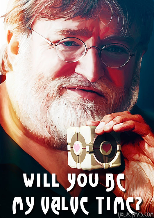 Gabe Newell: Will you be my Valve Time?