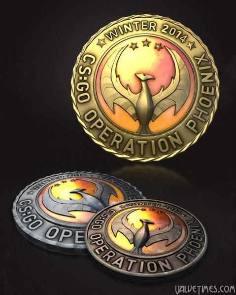 Counter-Strike:Global Offensive Operation Phoenix Coin