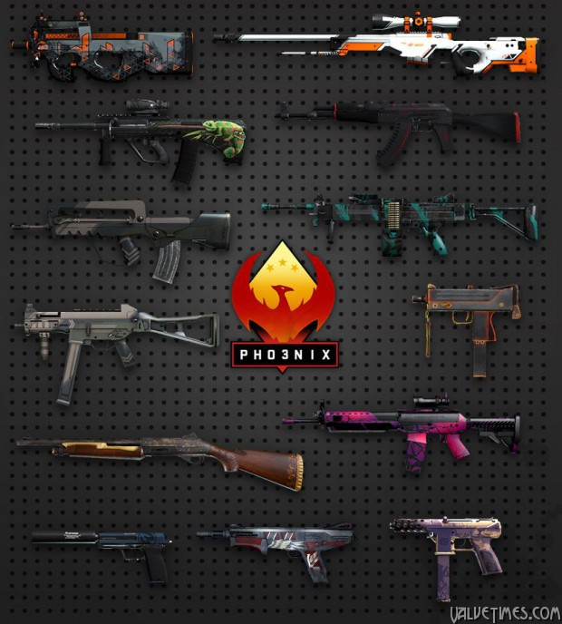 Counter-Strike:Global Offensive Operation Phoenix Weapons