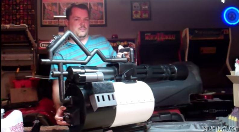 Team Fortress 2 Sasha пулеметчик