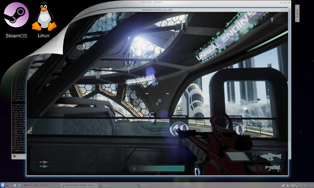 Unreal Engine 4.1. будет поддерживаться в SteamOS