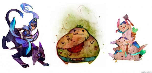Герои Dota 2 иллюстрации