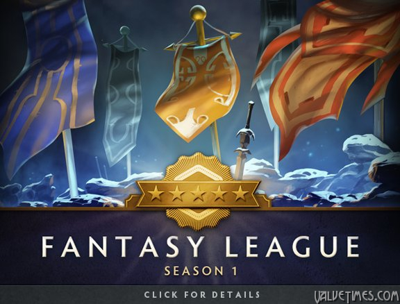 Dota 2Fantasy League Season one