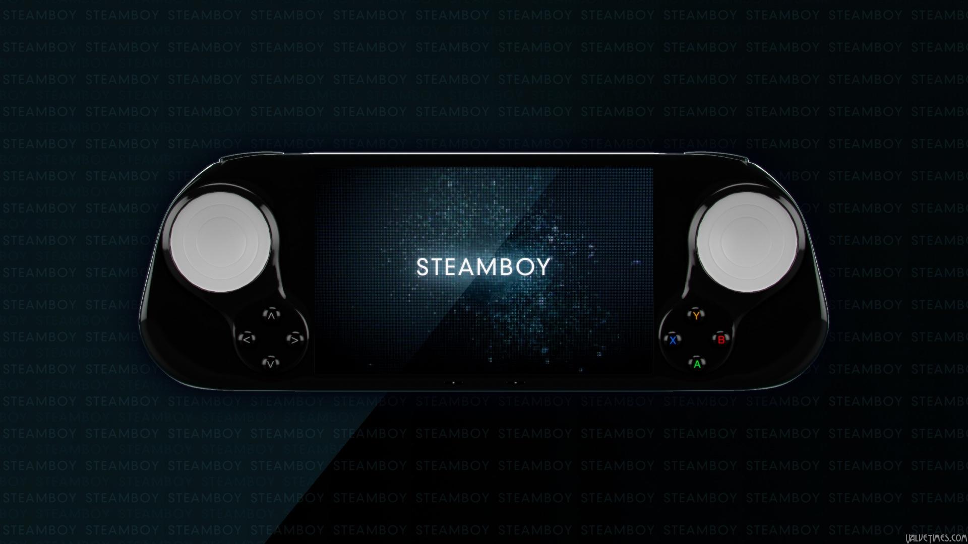 SteamBoy - портативная консоль на SteamOS