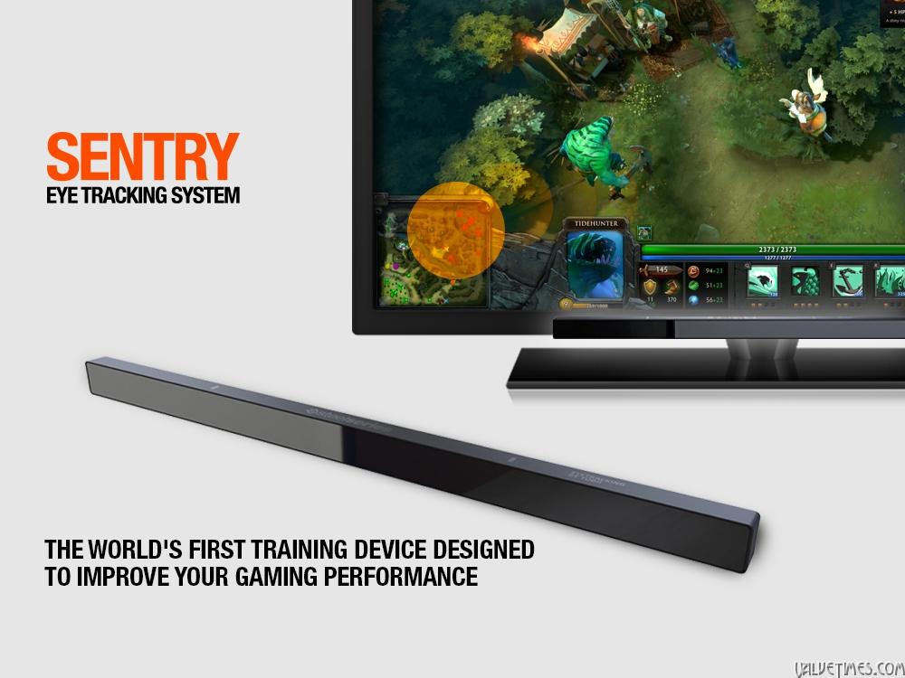 SteelSeries сделали Sentry - устройство отслеживания движения глаз для повышения производительности в играх