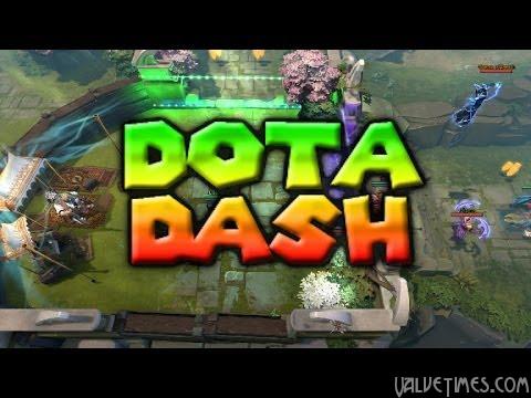 DOTA2 Custom Map: DOTA Dash!