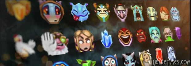 Dota 2 Compendium Overflowing emoticons