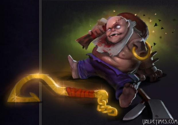 Dota 2 Compendium Overflowing mini-pudge