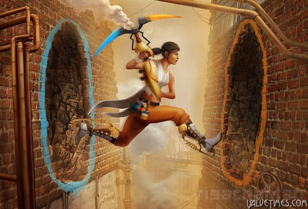 Лучшие арты июля 2014 Portal 2