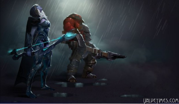 Dota 2 Compendium Overflowing Weather effects