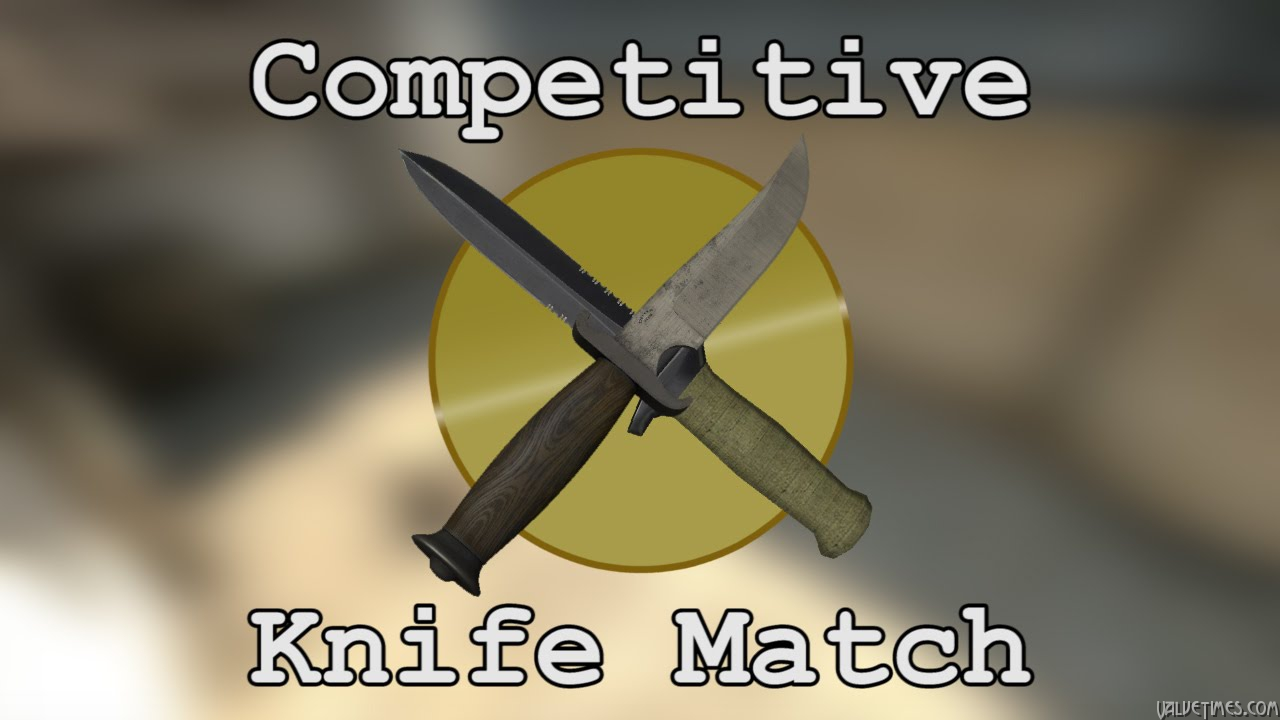 CS:GO Competitive Knife Match — 5v5 Knives Only!!