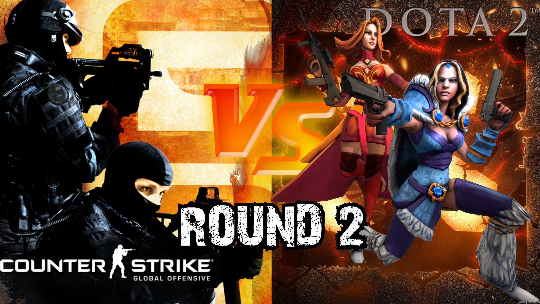 DOTA 2 vs CS:GO — Round 2 [SFM]