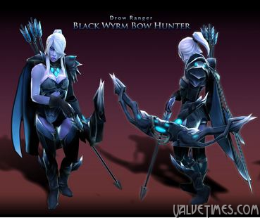 """Black Wyrm Bow Hunter"""