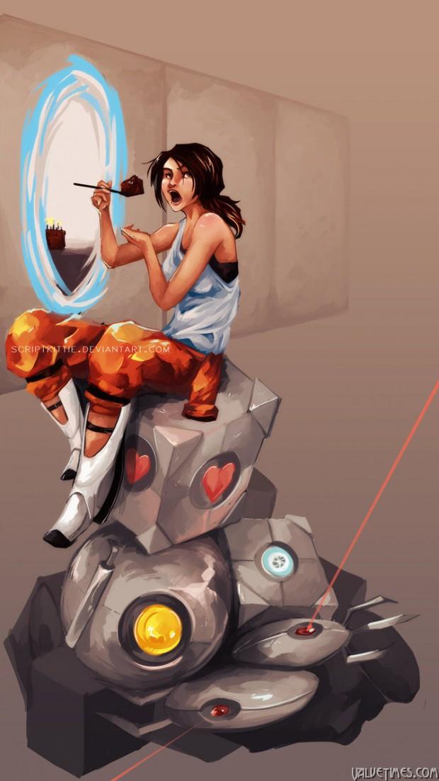 Лучшие арты августа - Portal