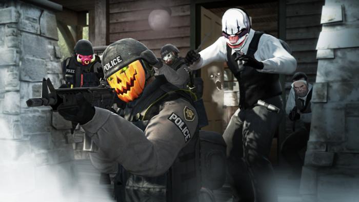 Хэллоуинский маскарад в CSGO