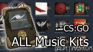 Все новые музыкальные комплекты в CS:GO