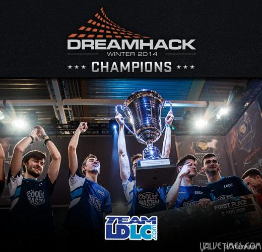 CSGO DreamHack 2014 победители LDLC