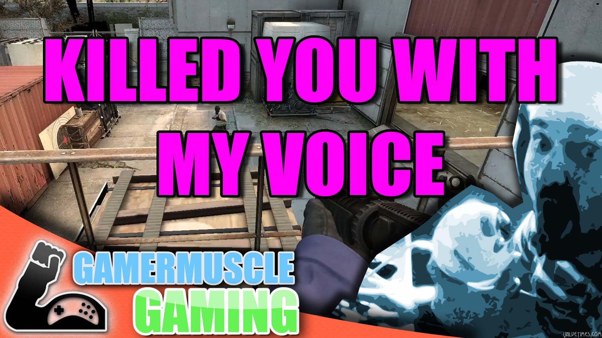 Голосовое управление в Counter-Strike: GO — повеселимся?