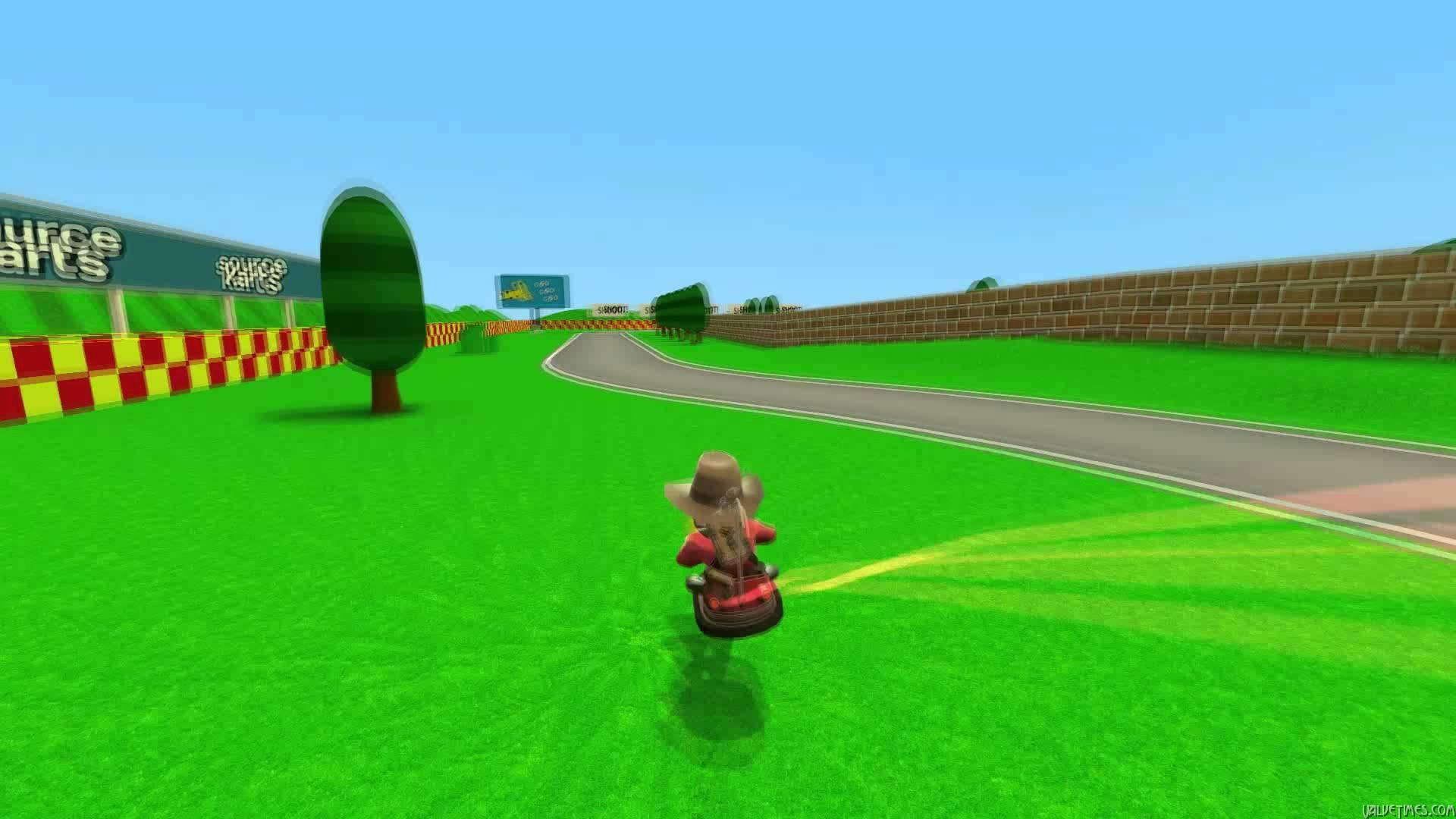 Mario Kart  в Team Fortress 2