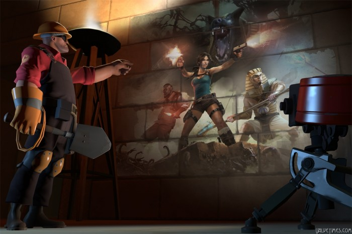 Tf2 конкурс на создание промо предметов для Tomb Raider