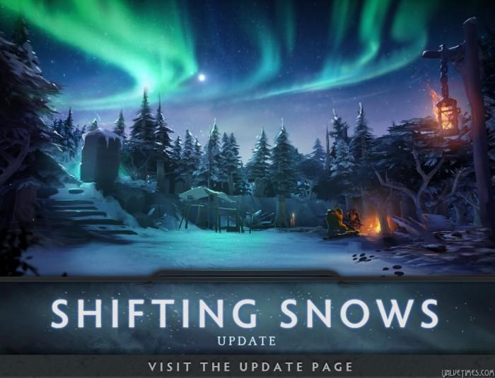 Dota 2 обновление Зыбучих Снегов (Shifting Snow)