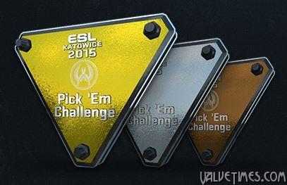 Трофеи за предсказания на ESL Katowice 2015