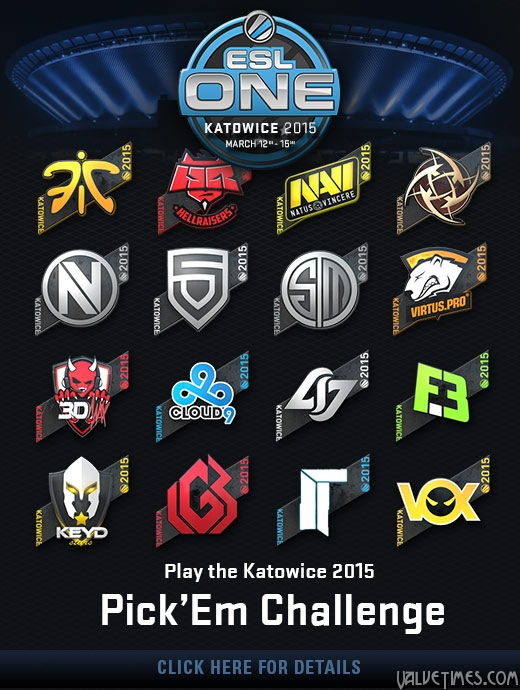 Предсказания на ESL Katowice 2015