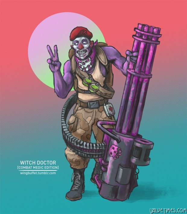 Military Dota Witch Doctor