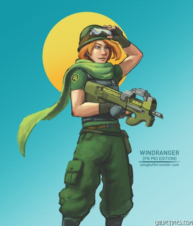 Military Dota Windranger