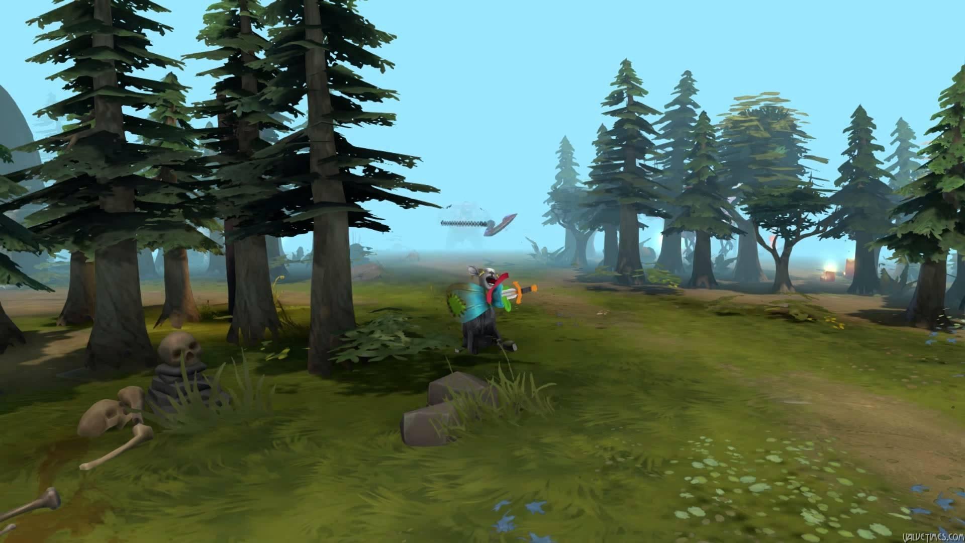 Dota 2: Курьер из Goat Simulator