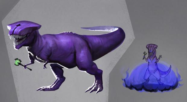 Dota 2 Faceless Rex Безликий Рекс