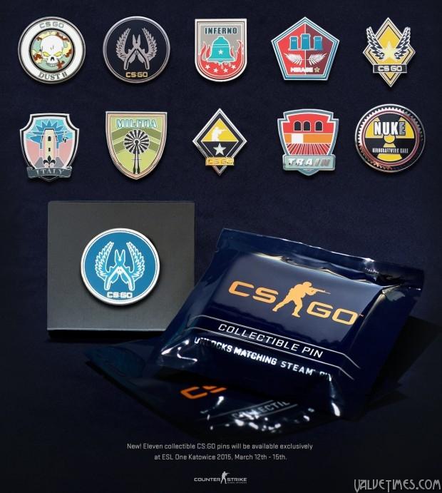 ESL One Katowice 2015 GS:GO Pins