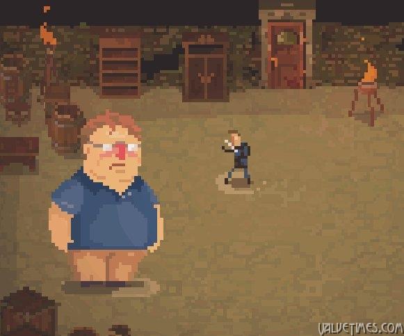 Gabe Newell (Valve) в игре Crawl