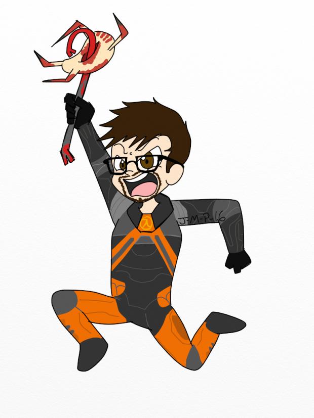 Лучшие арты Июня 2015. Half-Life 2.