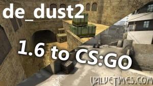 История изменений карты de_dust2 — от CS 1.6 до CS:GO