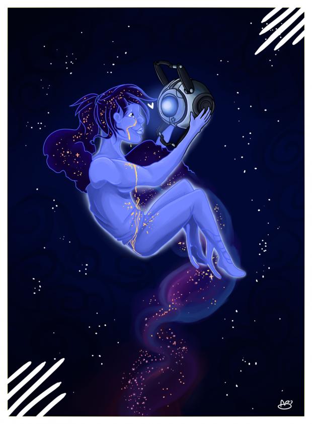 Лучшие арты июня 2015. Portal 2