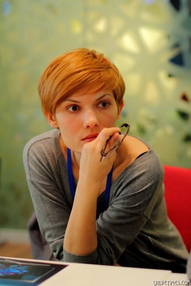 Анна Крюкова - один из авторов проекта ASH Gaming House