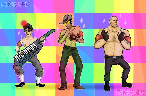 Лучшие арты июля 2015. Team Fortress 2.