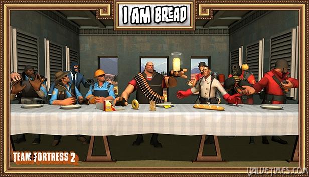 Новый уровень TF2 в I am Bread