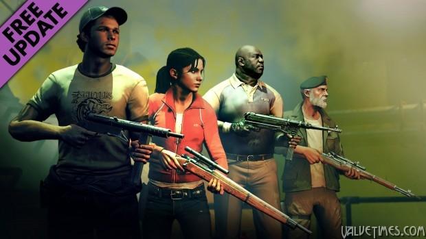 Персонажи Left 4 Dead в Zombie Army Trilogy