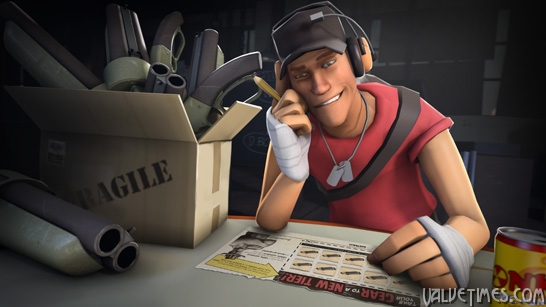 Team Fortress 2 Gun Mettle Trade up