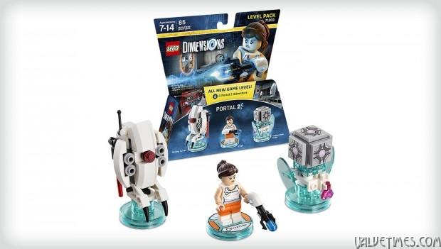 Portal 2 LEGO